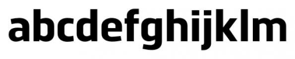 Norpeth ExtraBold Font LOWERCASE