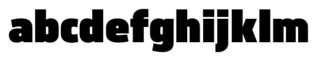 Norpeth Ultra Font LOWERCASE