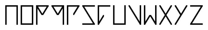 Notdef Blank Font LOWERCASE