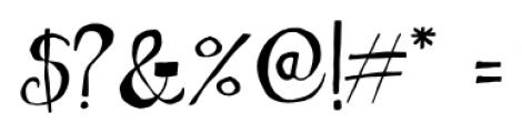 Nova Horst Regular Font OTHER CHARS