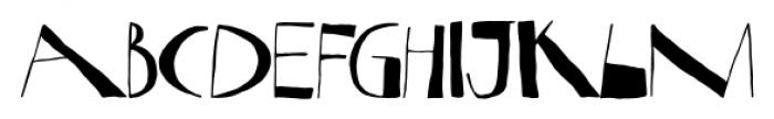 Nova Horst Regular Font UPPERCASE