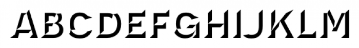Novecento Carved Bold Font LOWERCASE