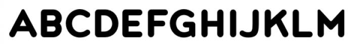 Noyh Rounded Heavy Font UPPERCASE