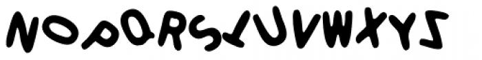 NOODless EF in Soup Font UPPERCASE