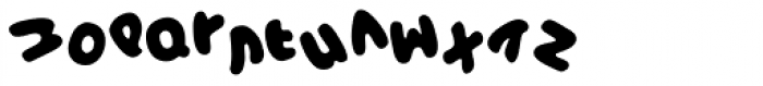 NOODless EF in Soup Font LOWERCASE