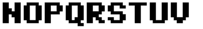 No Biggie One Bold Font UPPERCASE