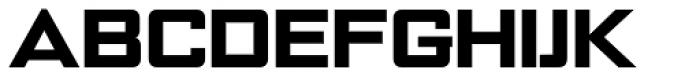 NoExit Black Expanded Font UPPERCASE