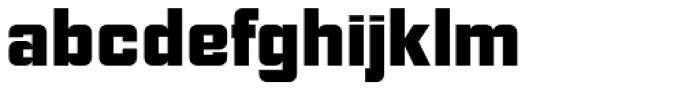 NoExit Black Semi Condensed Font LOWERCASE