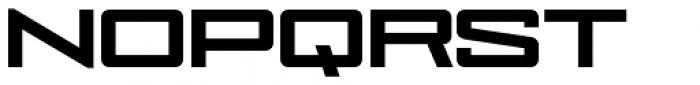 NoExit Black Ultra Expanded Font UPPERCASE