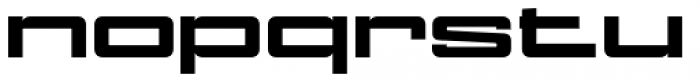 NoExit Black Ultra Expanded Font LOWERCASE