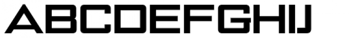 NoExit Bold Extra Expanded Font UPPERCASE