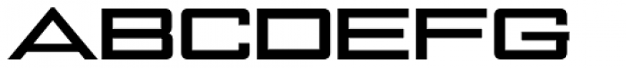 NoExit Bold Ultra Expanded Font UPPERCASE