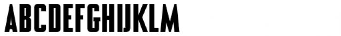 NoExit Medium Condensed Font UPPERCASE