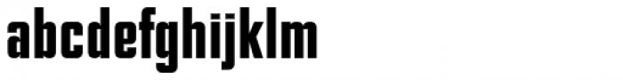 NoExit Medium Condensed Font LOWERCASE