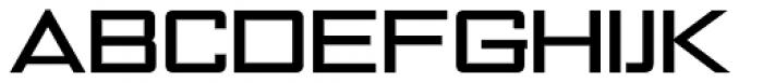 NoExit Medium Extra Expanded Font UPPERCASE