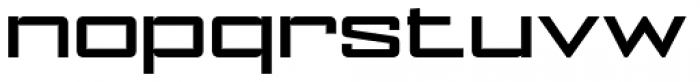 NoExit Medium Extra Expanded Font LOWERCASE