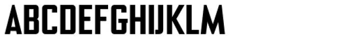 NoExit Medium Semi Condensed Font UPPERCASE
