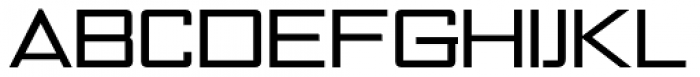 NoExit Regular Extra Expanded Font UPPERCASE