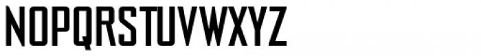 NoExit Regular Semi Condensed Font UPPERCASE