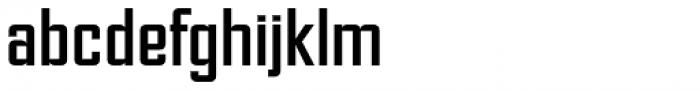 NoExit Regular Semi Condensed Font LOWERCASE