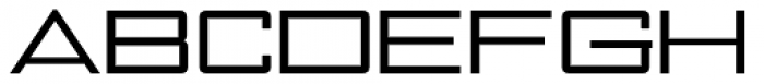 NoExit Regular Ultra Expanded Font UPPERCASE
