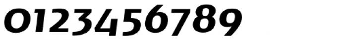 Noa Bold Oblique Font OTHER CHARS