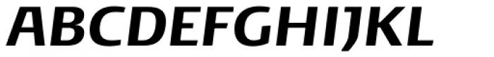 Noa Bold Oblique Font UPPERCASE