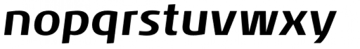 Noa Bold Oblique Font LOWERCASE