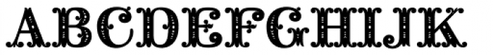 Noir Monogram Ornate (10000 Impressions) Font UPPERCASE