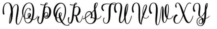 Noiry Regular Font UPPERCASE