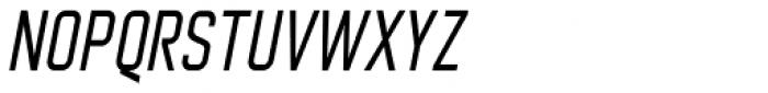 Nok Condensed Bold Italic Font UPPERCASE