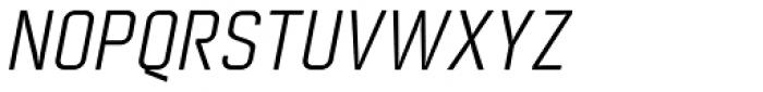 Nok SC Italic Font UPPERCASE