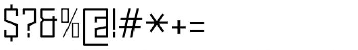Noki Light Font OTHER CHARS