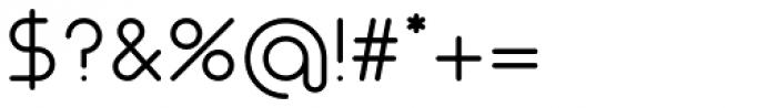 Nokio Regular Font OTHER CHARS