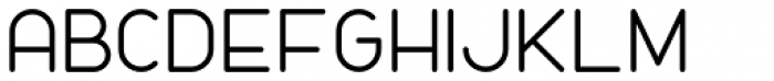 Nokio Regular Font UPPERCASE