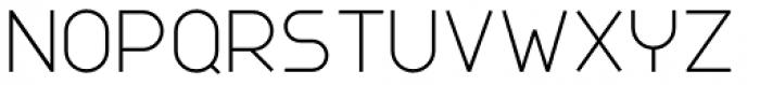 Nokio Sans Alt Light Font UPPERCASE