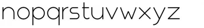 Nokio Sans Alt Light Font LOWERCASE