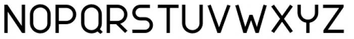 Nokio Sans Medium Font UPPERCASE