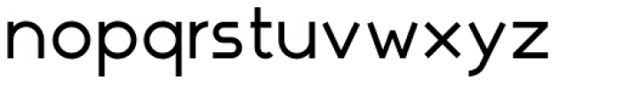 Nokio Sans Medium Font LOWERCASE