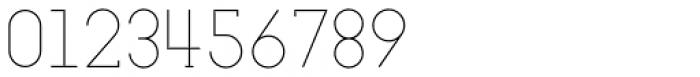 Nokio Slab Alt Extra Light Font OTHER CHARS
