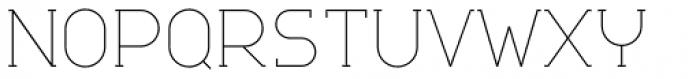 Nokio Slab Alt Extra Light Font UPPERCASE