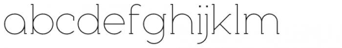 Nokio Slab Alt Extra Light Font LOWERCASE