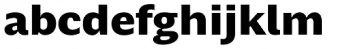 Nomada Black Font LOWERCASE