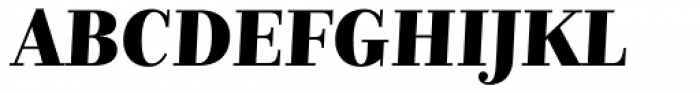 Nomada Didone Black Italic Font UPPERCASE