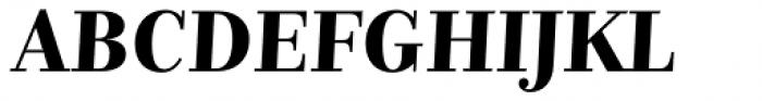 Nomada Didone Bold Italic Font UPPERCASE