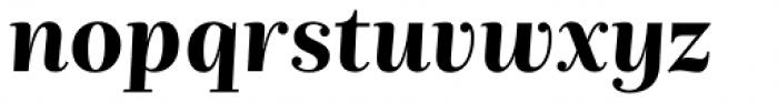 Nomada Didone Bold Italic Font LOWERCASE