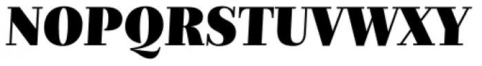 Nomada Didone Extrablack Italic Font UPPERCASE