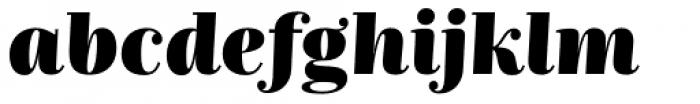 Nomada Didone Extrablack Italic Font LOWERCASE