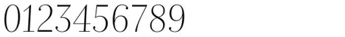Nomada Didone Extrathin Italic Font OTHER CHARS