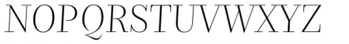 Nomada Didone Extrathin Italic Font UPPERCASE